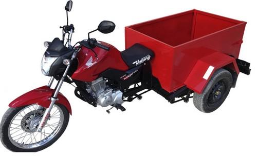 Moto triciclo carga carroceria