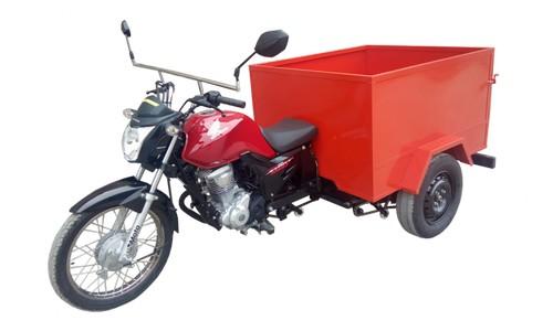 Triciclo de carga caçamba estendida