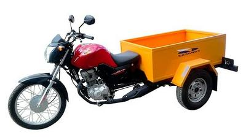 Triciclo moto carga