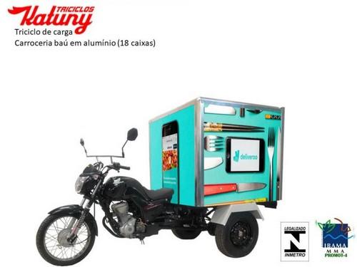 Triciclo para transporte de cargas